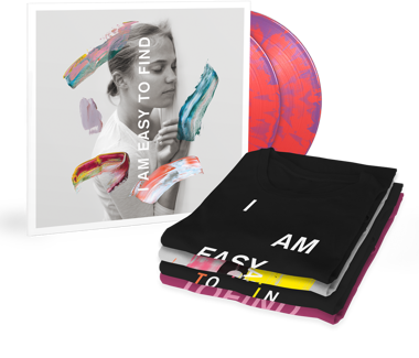 I Am Easy To Find  Cherry Tree Exclusive  Vinyl + T-Shirt Bundle