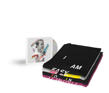 I Am Easy To Find  Cherry Tree Exclusive  CD + T-Shirt Bundle