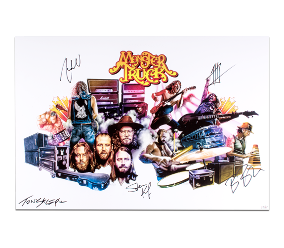 True Rockers Print - Signed