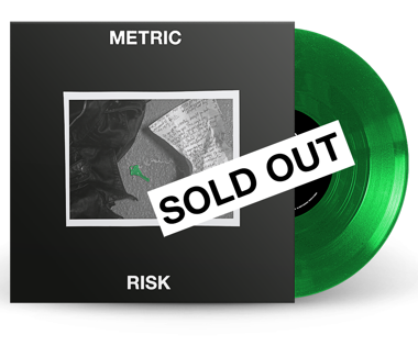 "Risk / No Lights on the Horizon  Limited Edition 10"" Vinyl"