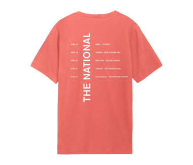 I Am Easy To Find - April 2019 Dates T-Shirt
