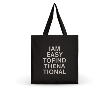 I am Easy To Find Tote Bag - Grey