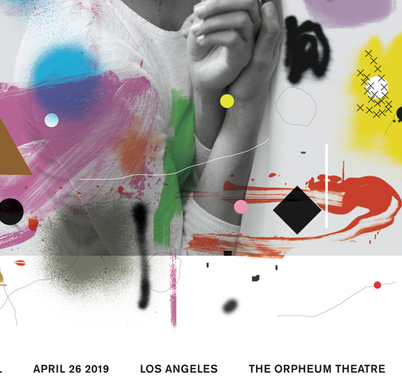 Los Angeles Orpheum Theatre Poster April 26, 2019