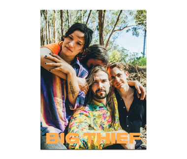 BIG THIEF Band Photo Poster