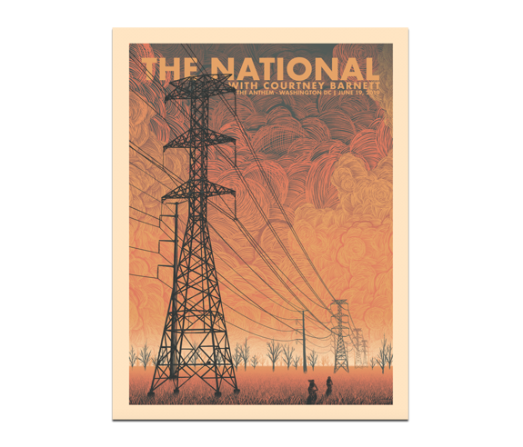 Washington DC Anthem Poster June 19, 2019 (SOLD OUT)