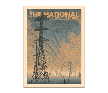 Washington DC Anthem Poster June 19, 2019 Cherry Tree Variant  (SOLD OUT)