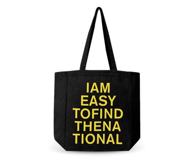 I am Easy To Find Tour All-Side Gusset Tote Bag
