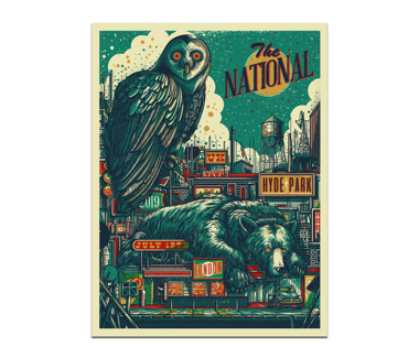 London Hyde Park Poster July 13, 2019 (SOLD OUT)