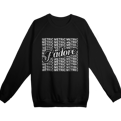 J'Adore Metric Repeating Crewneck + AOD Digital Download Limited Edition