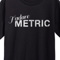J'adore Metric T-Shirt + AOD Digital Download Limited Edition