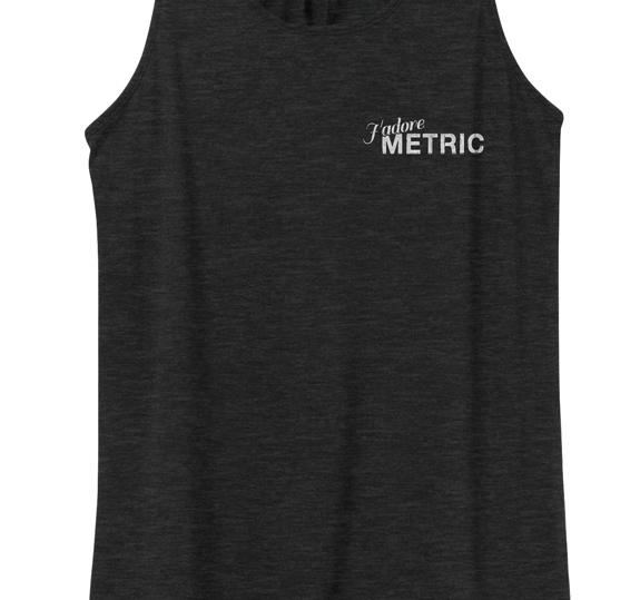 J'adore Metric Racerback Tank Top + AOD Digital Download Limited Edition