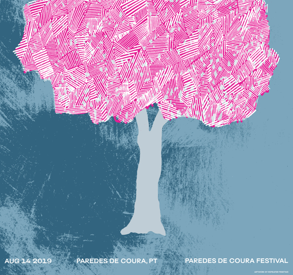 Paredes De Coura Festival Poster August 14, 2019