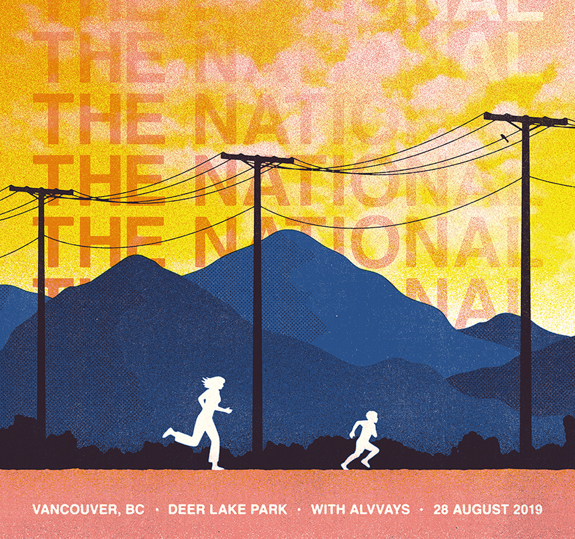 Vancouver Deer Lake Park Poster August 28, 2019 (SOLD OUT)