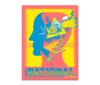 Stanford Frost Amphitheater Poster September 1, 2019