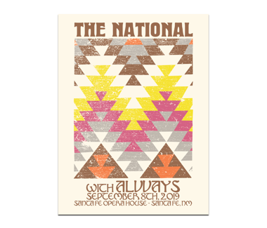 Santa Fe Opera House Poster September 8, 2019 (SOLD OUT)