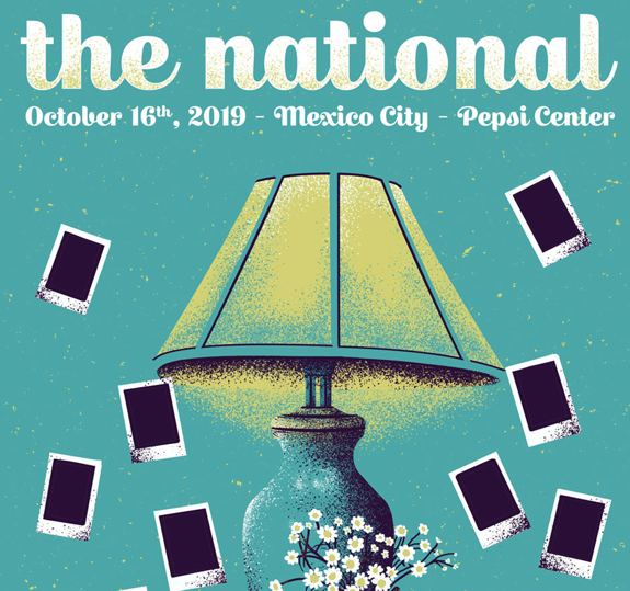 Mexico City Pepsi Center Poster October 16, 2019  (SOLD OUT)