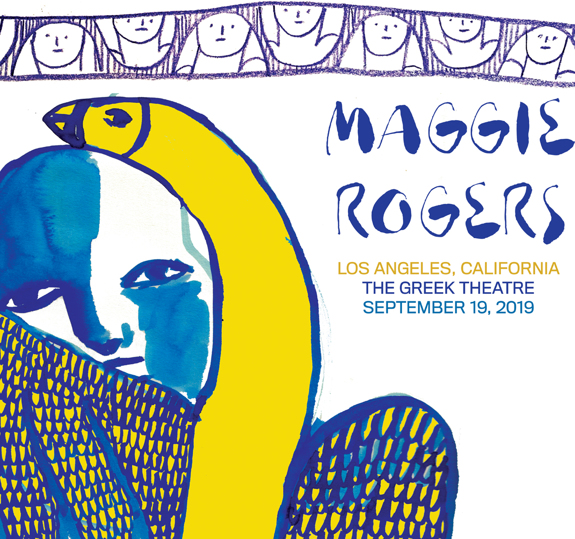 Los Angeles Greek Theatre Poster September 19, 2019