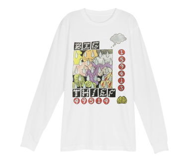 BIG THIEF Numbers Longsleeve