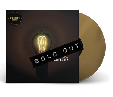 "Fantasies - 10th Anniversary Limited Edition 12"" Vinyl (Gold)"
