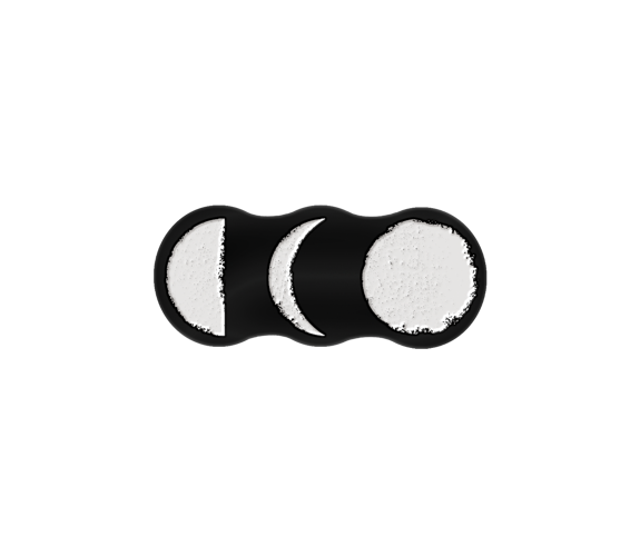 Moon Phases Lapel Pin