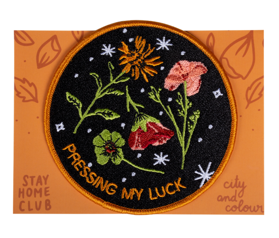 Stay Home Club x City & Colour Pressing My Luck Patch