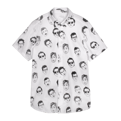 Floating Heads Button-Up