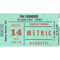 November 14, 2019Funhouse Recording Event Ticket Package
