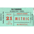 November 21, 2019Funhouse Recording Event Ticket Package