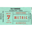 November 7, 2019Funhouse Recording Event Deluxe Ticket Package Includes Meet & Greet / Early Access