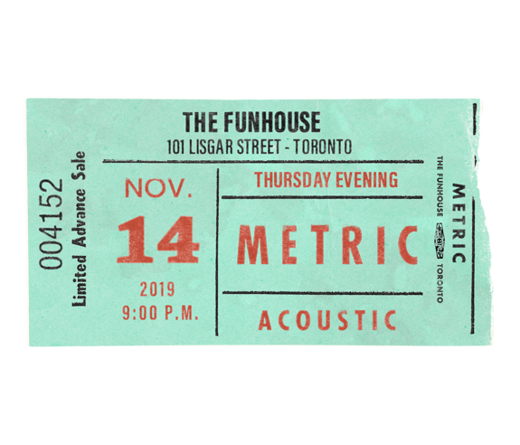 November 14, 2019Funhouse Recording Event Deluxe Ticket Package Includes Meet & Greet / Early Access