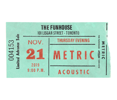 November 21, 2019Funhouse Recording Event Deluxe Ticket Package Includes Meet & Greet / Early Access
