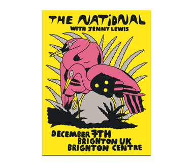 Brighton, UK Brighton Centre Poster December 7, 2019 (SOLD OUT)