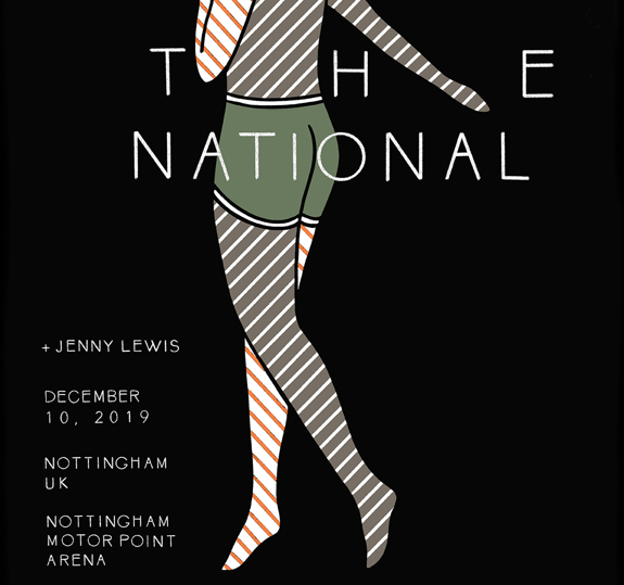 Nottingham, UK Nottingham Motorpoint Arena Poster - December 10, 2019  (SOLD OUT)