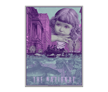 Lisbon, PT Campo Pequeno Poster December 12, 2019 Cherry Tree Variant (SOLD OUT)