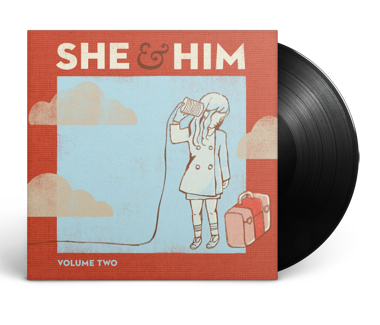 "SHE & HIM Volume Two 12"" Vinyl"