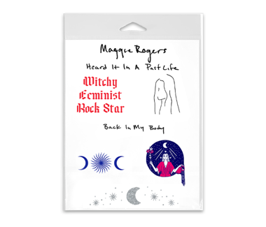 Maggie Rogers Temporary Tattoos