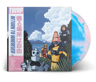 "Return to Wherever 12"" Vinyl (Blue/Pink)"
