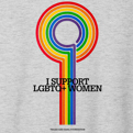TSF I Support LGBTQ Women T-Shirt