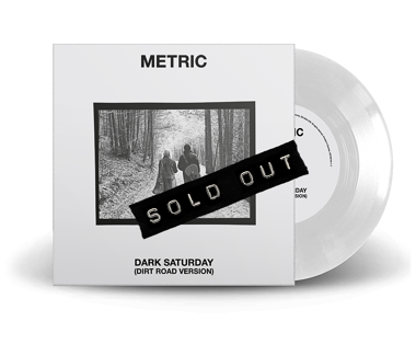 "Dark Saturday (Dirt Road Version) Limited Edition 7"" Vinyl"