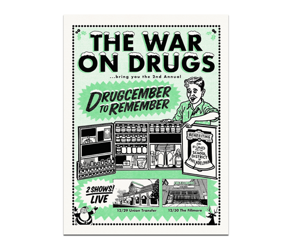 Drugcember 2019 Poster  Philadelphia December 29 & 30