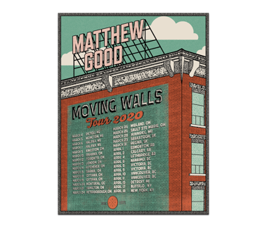 Moving Walls 2020 Tour Poster