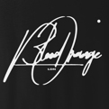 Blood Orange Big Script T-Shirt