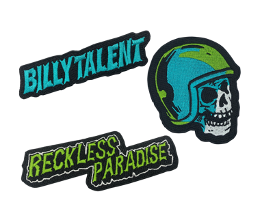 Reckless Paradise Patch Set