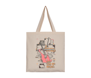 Lost in the Dream Guitar Tote