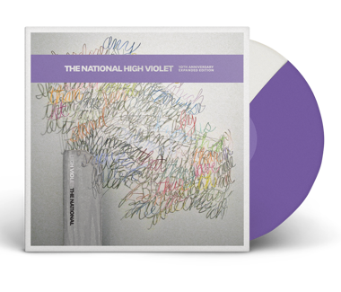 "High Violet Expanded - Cherry Tree Ltd. Edition 3x12"" Vinyl (Purple/White Split)"