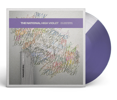 "High Violet Expanded - Cherry Tree Ltd. Edition 3x12"" Vinyl (Purple/Clear Split)"