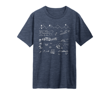 Nation of Two Sketch T-Shirt