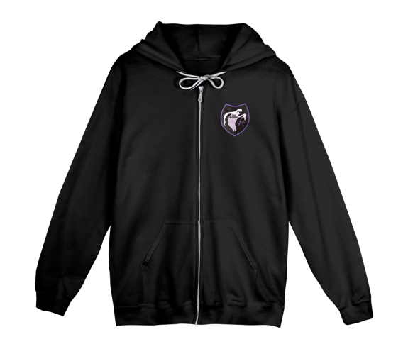 Ghost Patch Zip Hoody