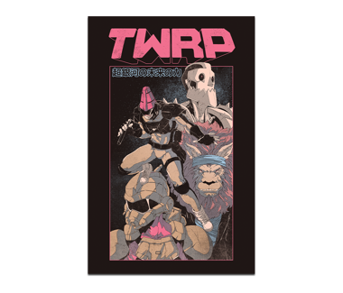 TWRP by David Liu Poster