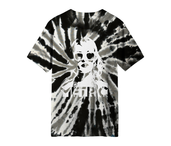 Emily Face Tie Dye T-Shirt Limited Edition